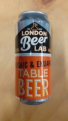 London Beer Lab Table Beer Mosaic and Ekuanot