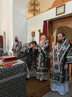 03.04.2020 | Литургия Преждеосвященных Даров в Юрьевом монастыре