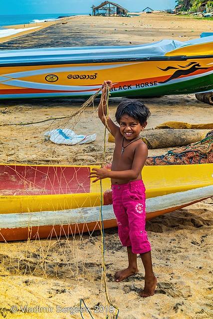 Little fisherwoman