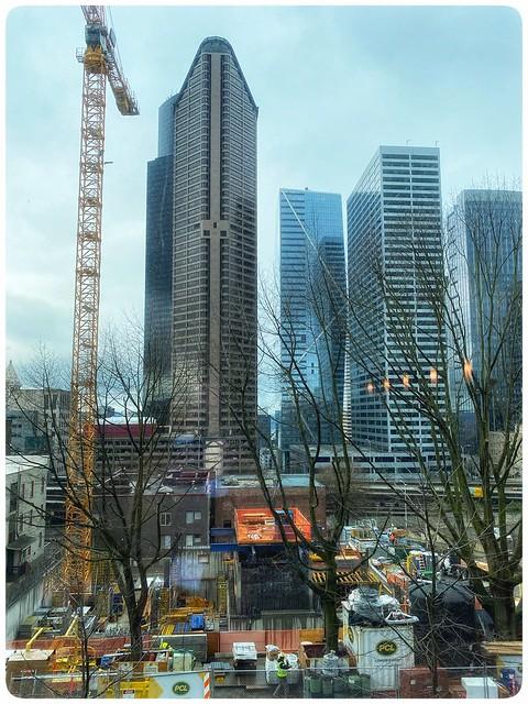 Seattle Washington construction now to a halt