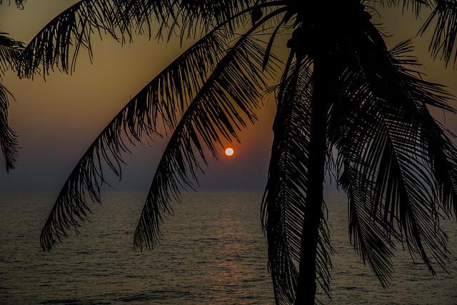 Sunset, Varkala, Kerala, India