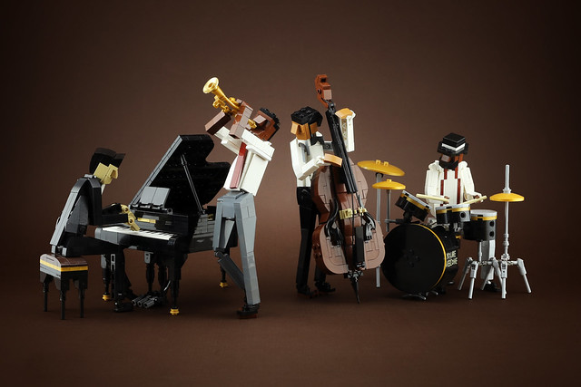 LEGO musicians band jazz