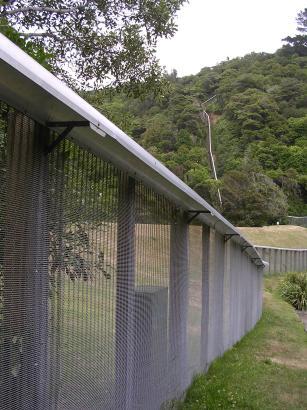 Mammal-proof fence