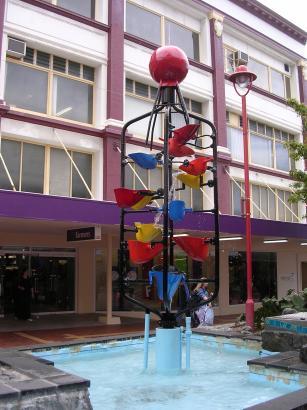 Cuba Street Fountain