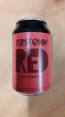 First Chop - RED Gluten Free (330 ml can)