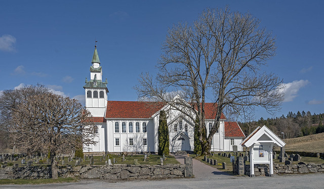 Birkenes church