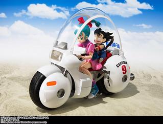 經典載具登場!!S.H.Figuarts《七龍珠》布瑪的9號膠囊機車(ブルマのバイク-ホイポイカプセルNo.9-)