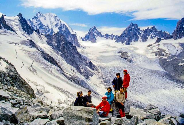 Al col de Planereuse (3.030 m)