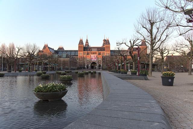 Amsterdam during coronavirus
