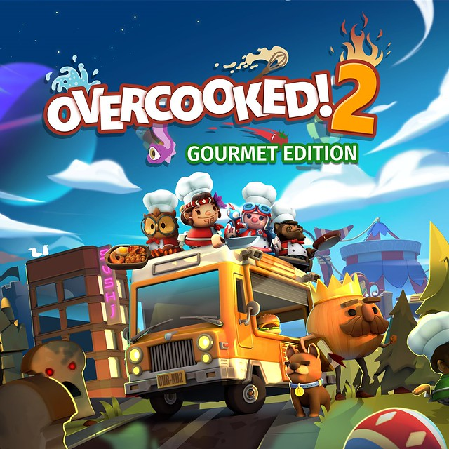 Thumbnail of Overcooked! 2 - Gourmet Edition on PS4