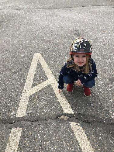 found an A!