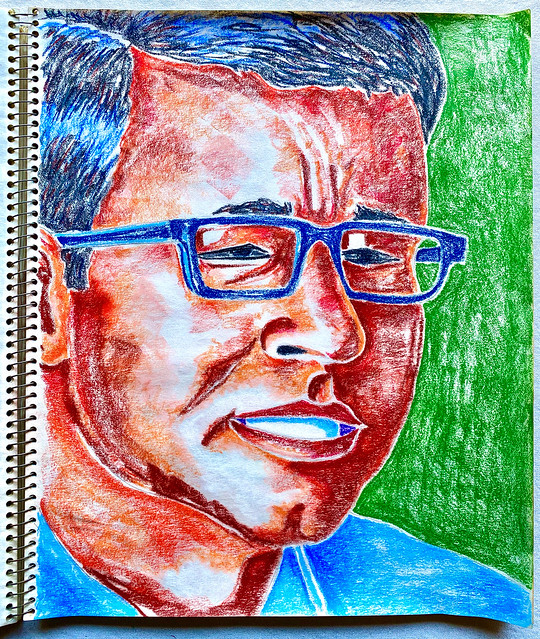 Christian Montone - Sketchbook Page (2020)