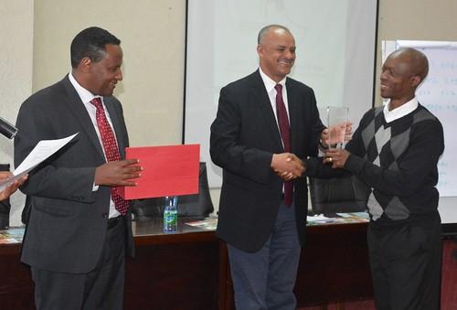 Adediran receives EPPPA award on behalf of TAAT
