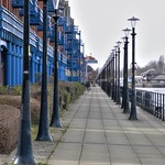 Dock side walkway in Preston