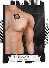 erstwhile //  SUPERNATURAL Anti-Possession Tattoo