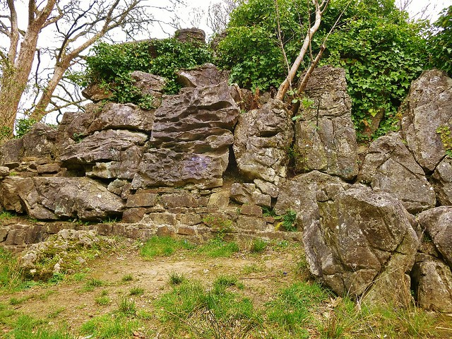 ruins in the ornamental gardens