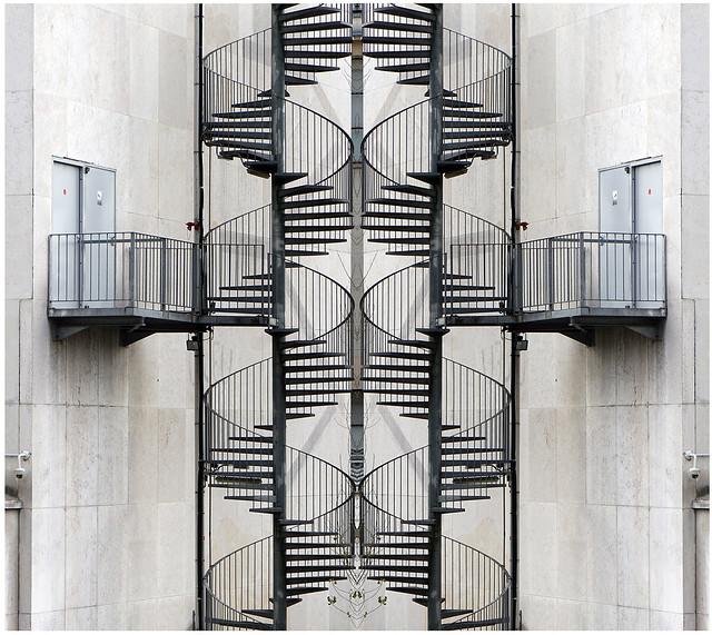 - Mirrored Stairs -