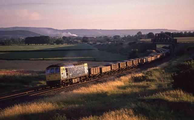 33065 At Cogload Junction. 18/07/1988.