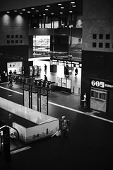 雨の京都駅