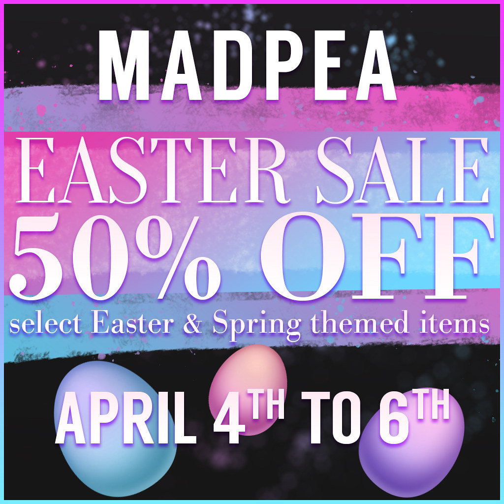 An Amazing MadPea Easter Sale!