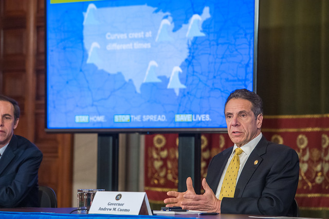Governor Cuomo Holds Briefing on COVID-19 Response 4-3