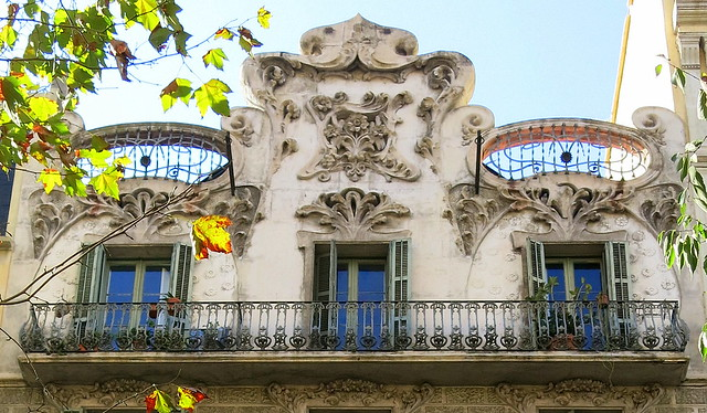 The top floor of a small apartment building in the Eixample, Barcelona