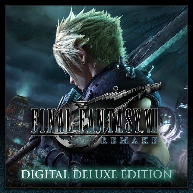 Thumbnail of FINAL FANTASY VII REMAKE Digital Deluxe Edition on PS4