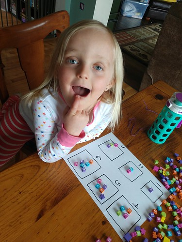 counting letter beads