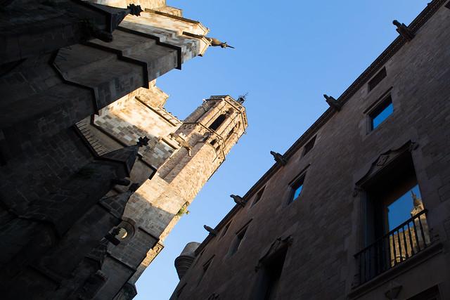 A window in Barcelona