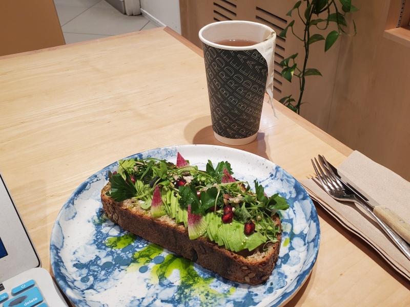 Earlybird avocado toast
