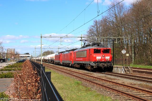 DBC 1616, 189 052 & 189 086 - Bergen op Zoom 03-04-2020.