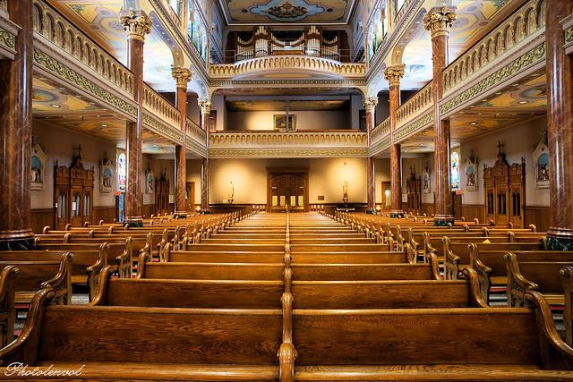 sanctuaire du Saint-Sacrement