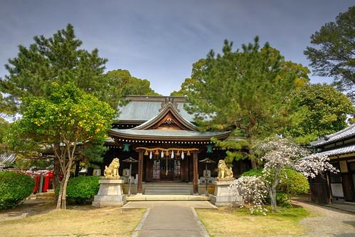 03-04-2020 Himeji, Himeji-jinjya Shrine (5)