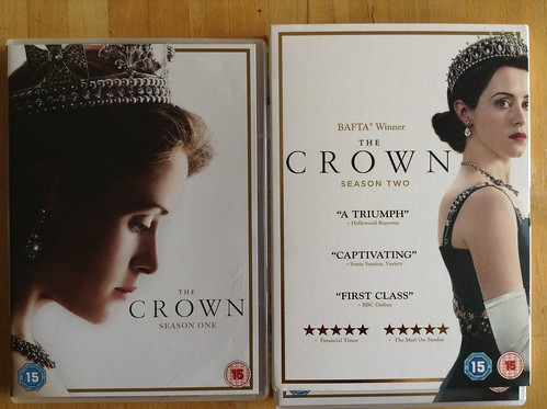 Finished watching The Crown series 1 & 2 this week