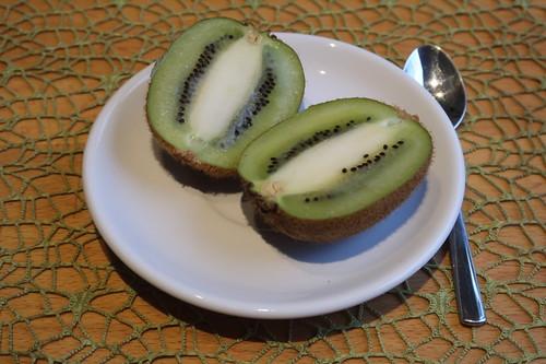 Kiwi als Nachtisch