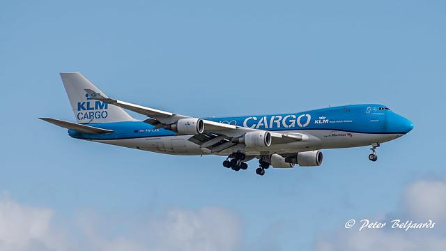PH-CKA   Boeing 747-406F(ER) - KLM Royal Dutch Airlines