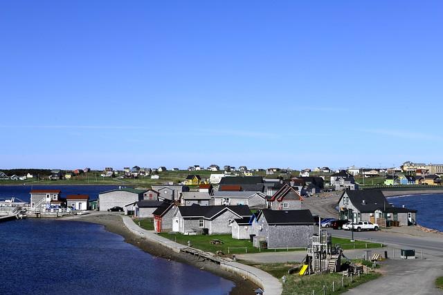 Petit village Acadien à Havre Aubert aux Îles de la Madeleine !