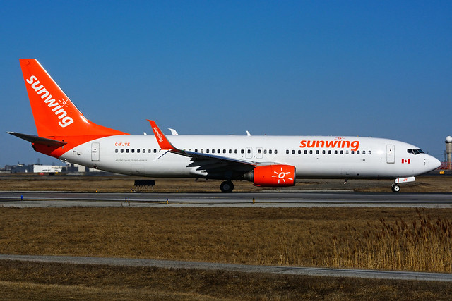 C-FJVE (Sunwing Airlines)