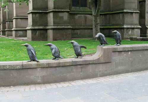 Model Penguins, Dundee City Centre
