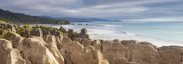 New Zealand / Punakaki / Pancake Rocks