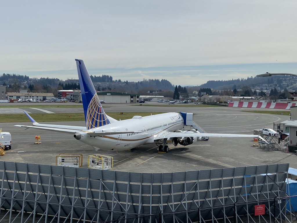 N47517, Boeing 737 NG  9, United Airlines (43456), Renton/Clayton Scott Field 17th March 2020