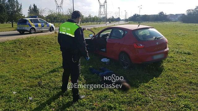 Policía Local detiene a un delincuente en Sevilla