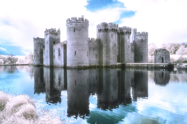 A ghostly castle..................