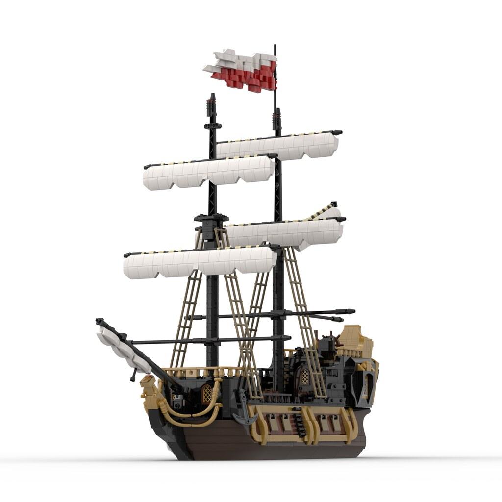 Alternate Barracuda Ship Build (21322)
