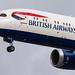 London Heathrow Airport: British Airways (BA / BAW) | Boeing 787-9 Dreamliner B789 | G-ZBKR | MSN 60627