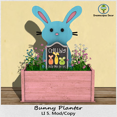 *Bunny* Planter - Dreamscapes Art Gallery for The Evil Bunny Hunt 10
