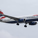 London Heathrow Airport: British Airways (BA / BAW) | Airbus A320-232 A320 | G-EUYW | MSN 6129
