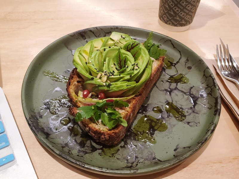 Earlybird avocado toast