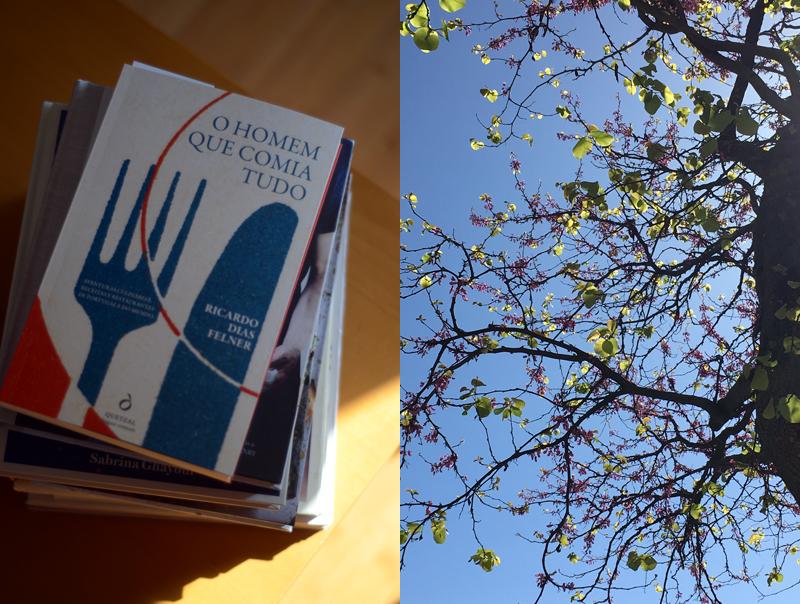 Alimento para uma pandemia: pão, livros, bolachas salgadas e um cabaz
