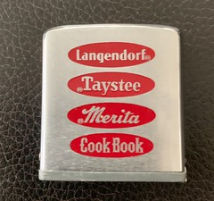 AMERICAN BAKERIES COMPANY - Zippo tape measure (Missing the MICKEY😋 & DRESSEL's🎂labels)